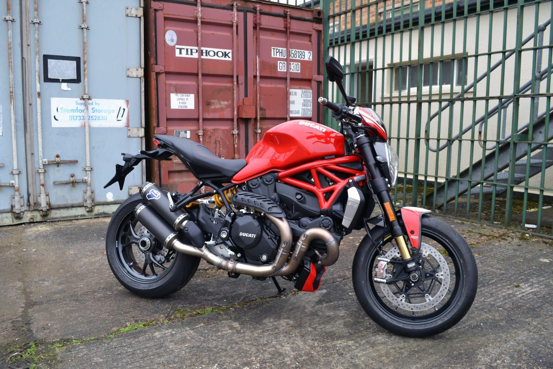 Tex Design Ducati Monster S4R   Return of the Cafe Racers